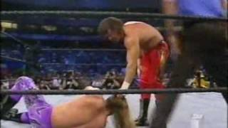 Eddie Guerrero and Chris Benoit vs Edge and The Rock Part 1