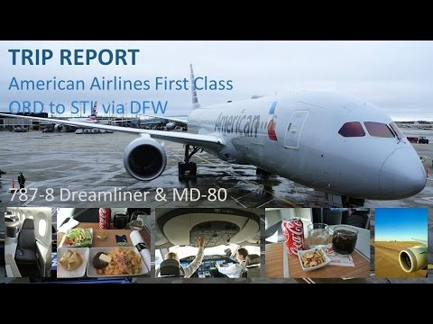 TRIP REPORT :: First Class on the Dreamliner :: American Airlines :: Chicago O'Hare to St. Louis