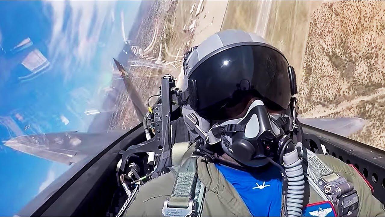 Download F-22 Raptor Fighter Pilot Maj. Loco Lopez