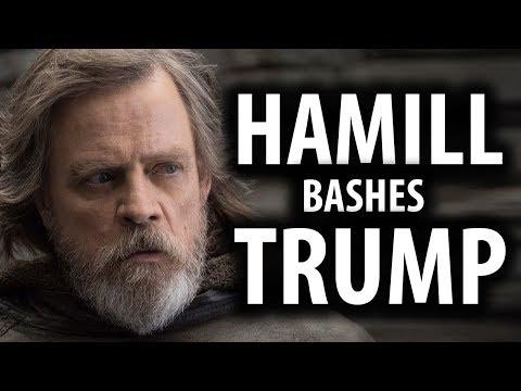 Mark Hamill Tweets My Photo While Bashing Trump