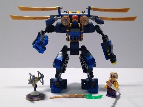 LEGO Ninjago set review Electro Mech 70754
