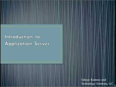 Introduction to Application Server