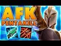 *ONE CLICK* HANDS OFF MY MOUSE & KEYBOARD PENTAKILL (HILARIOUS) - BunnyFuFuu