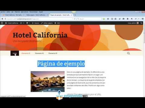 Cómo Crear Una Web Profesional Con WordPress, Desde Cero, Paso a ...