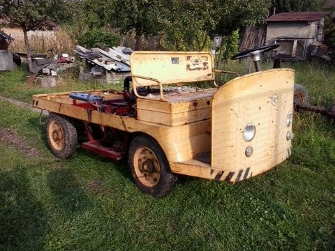 Diesel Electric Homemade Vehicle