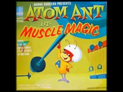 Atom Ant in Muscle Magic Kids Record