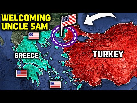 US Sent 3800 Soldiers and 200 Tanks to Greek-Turkish Border