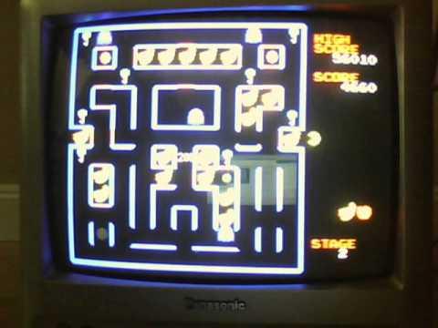 Let's Play: Super Pac-Man On The Jakks Pacific Retro Arcade Featuring Pac-Man Namco Plug N Play