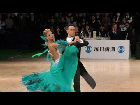 4K 2017 WDSF World Open Standard in Tokyo | Simone Segatori - Annette Sudol, GER | TANGO
