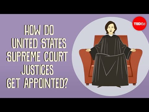 How do US Supreme Court justices get appointed? - Peter Pacc