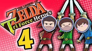 Zelda Tri Force Heroes: Bomb Crazy - PART 4 - Grumpcade
