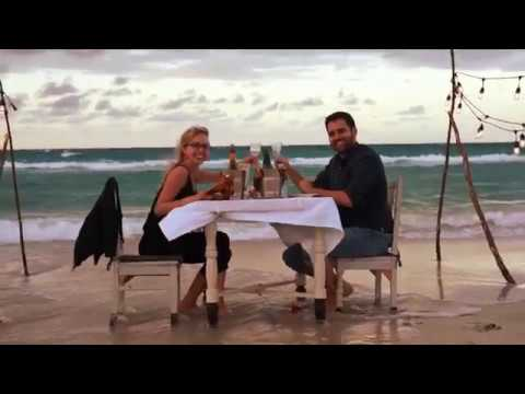Have a romantic dinner under the sea!
