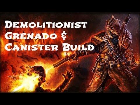 Grim Dawn Demolitionist Build