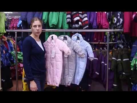Reima зимние комбинезоны - обзор детской одежды - YouTube
