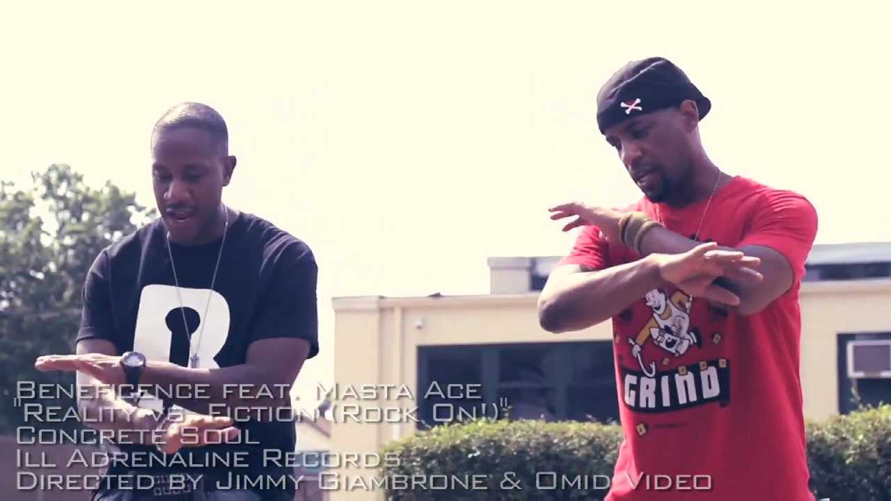 Beneficence feat. Masta Ace & Total Eclipse - Reality vs. Fiction (Rock On!)