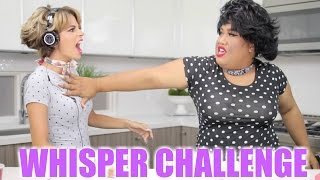 THE WHISPER CHALLENGE | Brenda vs Shirley