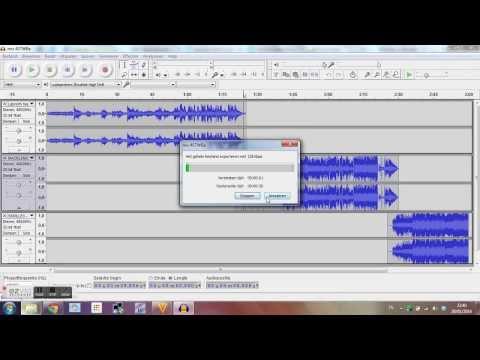 Audacity: opslaan als MP3