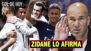 Zidane aprobó: Neymar y la BBC juntos. Así reaccionó Valverde