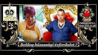 Gambar cover Markovics József - Fegyvernekre Miskának És Zsuzsikának 23. Házassági Évfordulójukra 2019