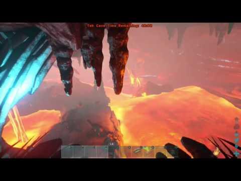 ARK como pasar la Cueva tek SOLO en dificil (alpha) usando un dinosaurio