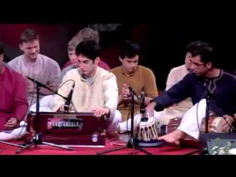 Yuva Shakti Qawwali Group - Shams Ud Doha - Guru Puja Evening Program 2014