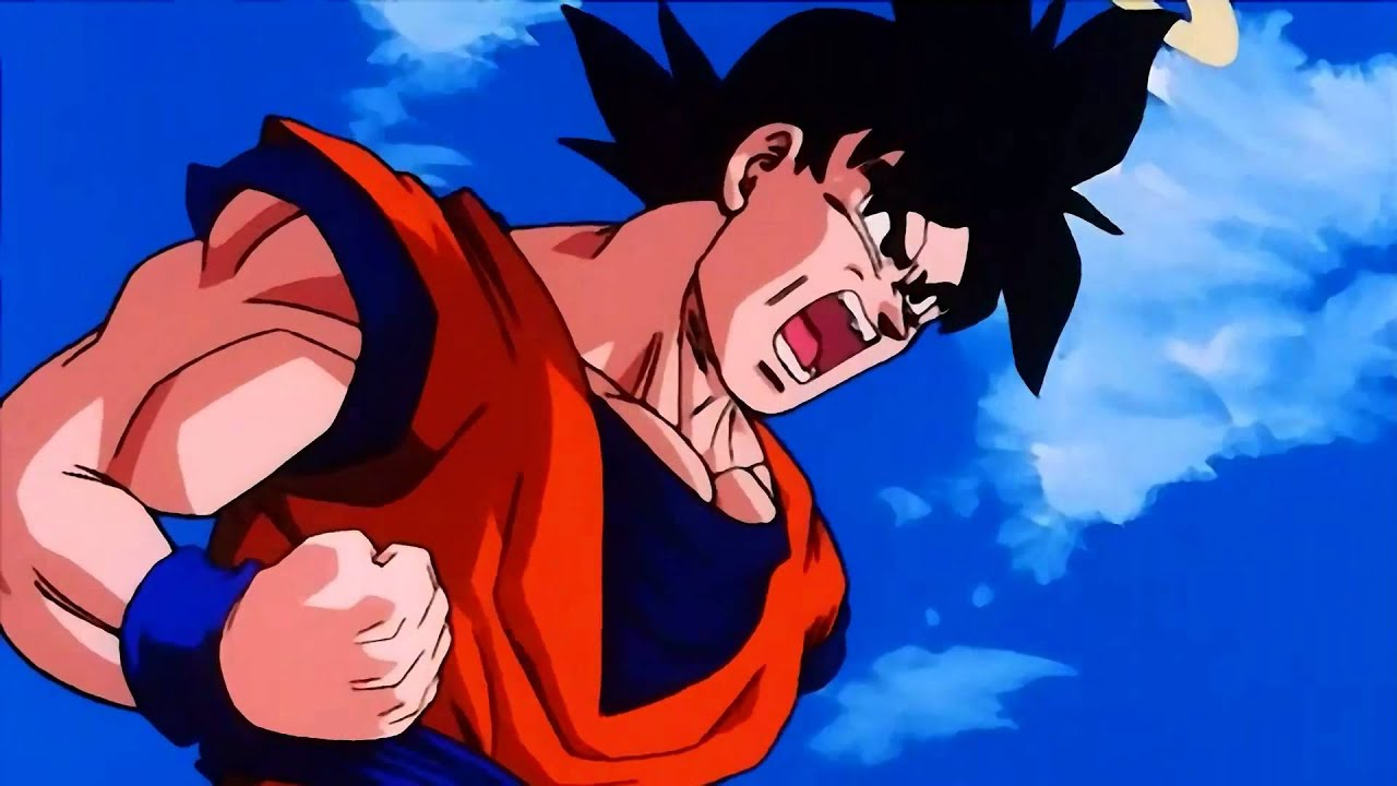 Goku goes Super Saiyan 2 against Majin Buu 【1080p HD ...