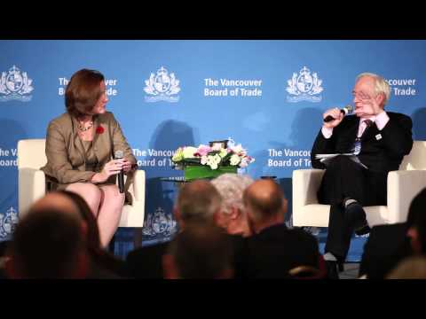 Q&A with Alberta Premier Alison Redford at The Vancouver Board of Trade