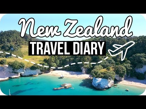 NEW ZEALAND TRAVEL DIARY!