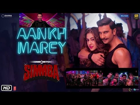Simmba Songs Aankh mare O Ladki song out soon, Ranveer Singh, Sara ali khan, Simmba VIDEO songs