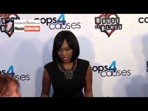 Angell Conwell arriving to Cops 4 Causes 2nd Annual Heroes Helping Heroes Benefit Concert at House O