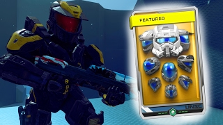 Halo 5 Classic Helmet Req Pack Opening/Showcase (EOD, CQB, Mark V Delta)