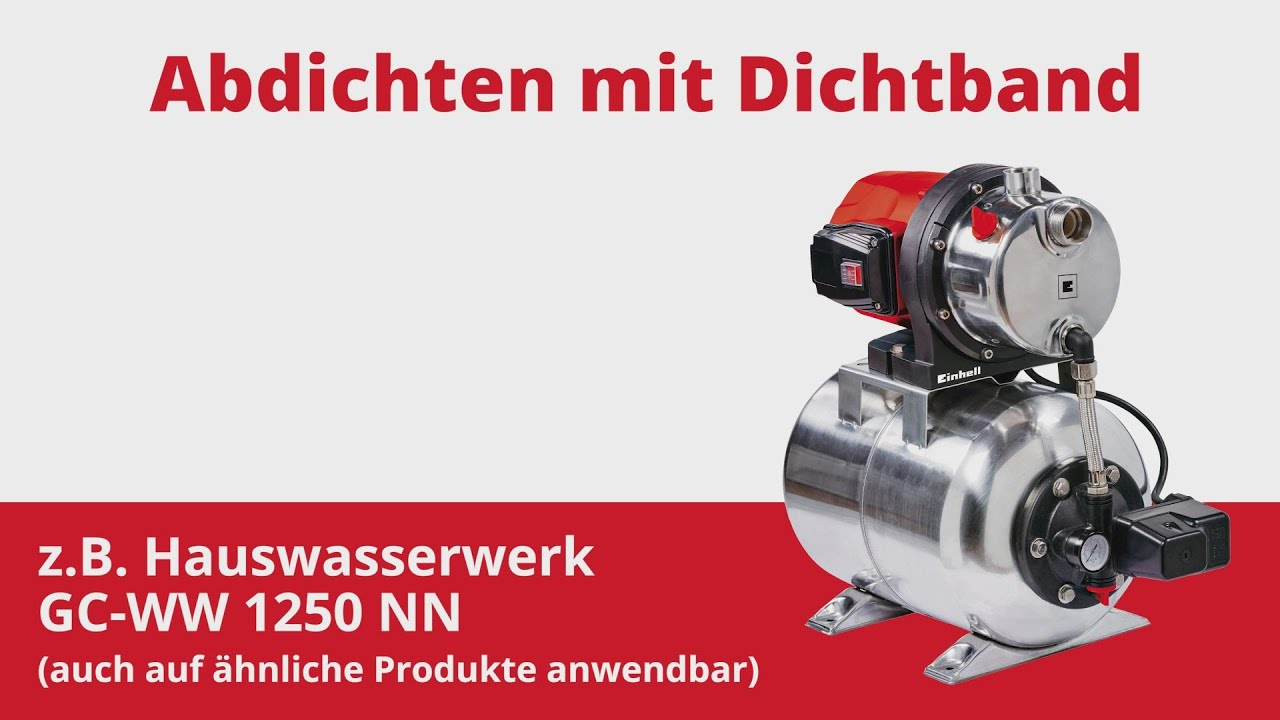 Einhell Hauswasserwerk GC-WW 1250 NN
