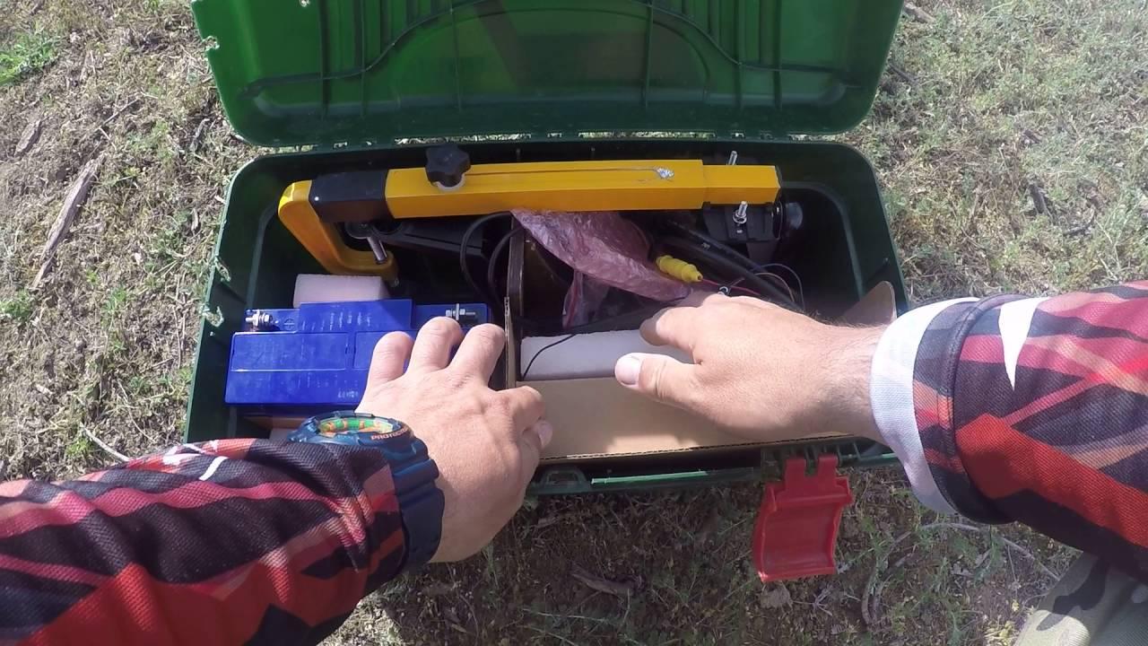 самодельный ящик для эхолотов