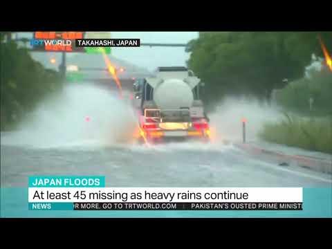 Heavy flood kills at least 15 people in Japan