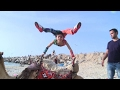 Gaza's 'Spider-Man' contortionist enters record books