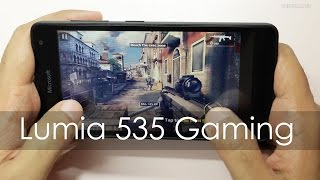 Microsoft Lumia 535 Budget Windows Phone Gaming Review