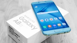 samsung galaxy a8 2016 unboxing hands on