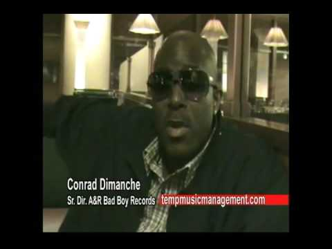 BADBOY''S  Conrad Dimanche speaks on Temp Music Management and Anthony Scoe Walker