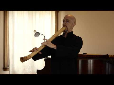Sanya 三谷 (dokyoku/Buddhist) - Cornelius Boots - Taimu (bass) Zen Shakuhachi Flute 深禅
