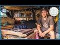 Swiss Adventurer built his Camper Van in 12 Days and lives in it full time ( Van Tour & Van Life )