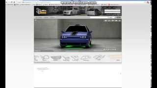 видео 3Д тюнинг автомобилей онлайн