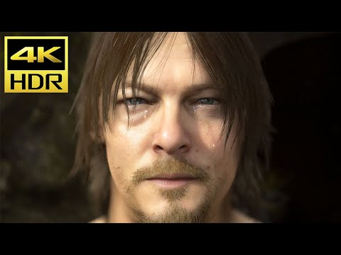 "DEATH STRANDING (PS4 Pro) 4K HDR Gameplay ""Prologue"" @ ᵁᴴᴰ ✔"