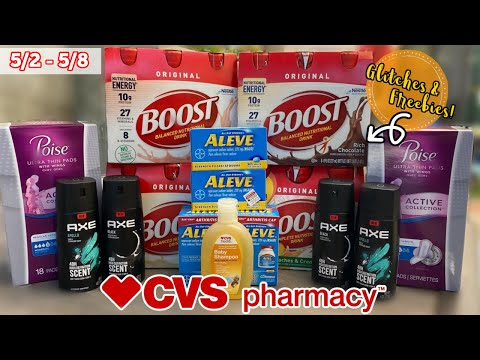 4 MORE DEALS I MISSED FOR THIS WEEK! FREE POISE PADS & GLITCHES | CVS BREAKDOWNS *5/2 5/8