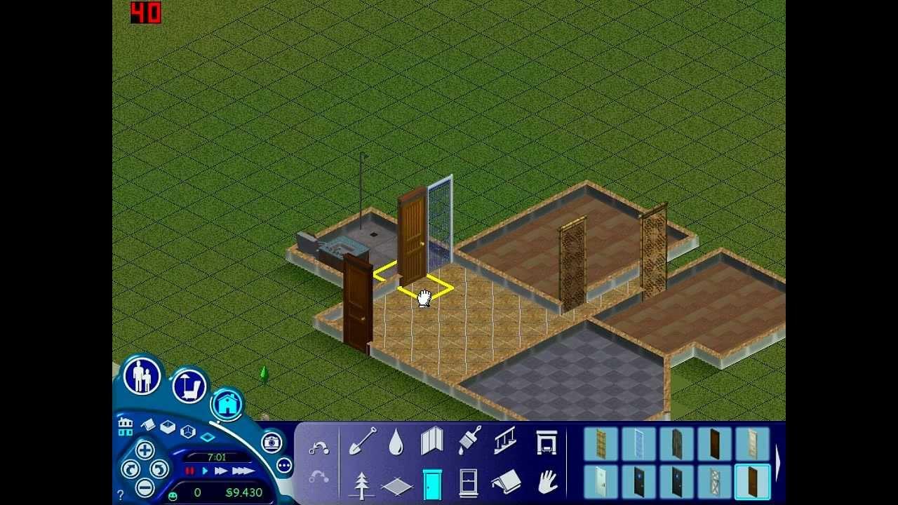 les sims 1 l 39 int grale 01 cr ation de famille. Black Bedroom Furniture Sets. Home Design Ideas