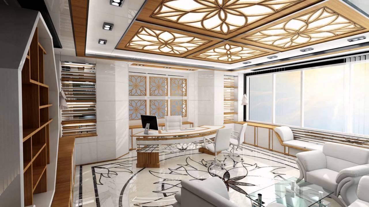 ceo office design sffeco dip dubai branch concept design youtube