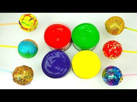Раскрашиваем и украшаем шарики. Блекски и Краски