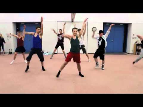 Matt Mattox Jazz Technique Class - Boys - Stephen Mear West End Sweet Charity Choreography
