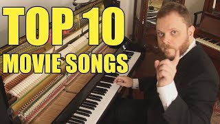 Top 10 Movie Songs on Piano