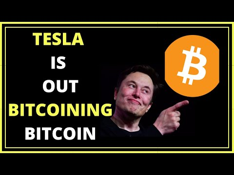 Tesla Is Out Bitcoining Bitcoin