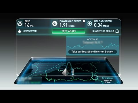 WORLDS SLOWEST INTERNET SPEED! (2016)